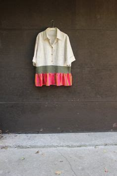 Blouse Babydol Katun Linen Import Jumbo repurposed s clothing dress tunic upcycled