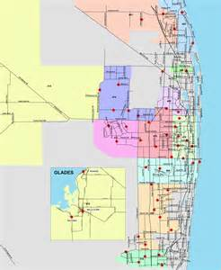 map palm county florida palm county rescue inspection zones
