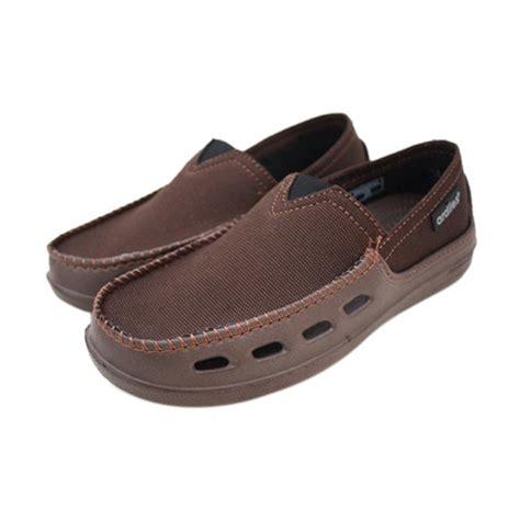 Sepatu Ardiles Kanvas jual ardiles dante sepatu slip on pria brown harga kualitas terjamin blibli