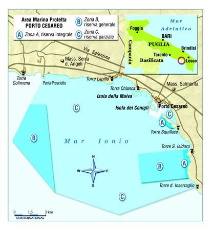 mappa porto cesareo parchi per tutti it immagini fotografiche cartina