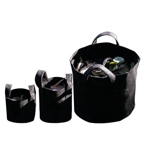 top black 20 gallon open top hydroponic garden vegetables