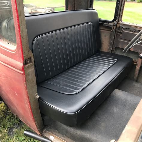 bench seat in cars fitting a bench seat into a channeled hot rod eastwood blog