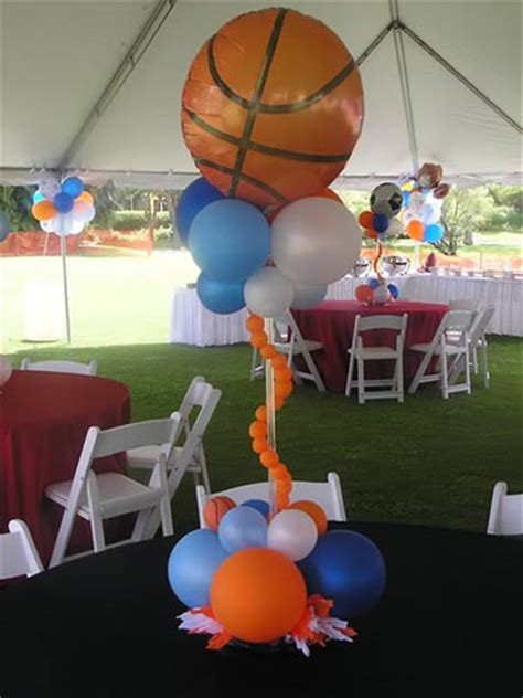 Baby Shower Sports Centerpieces by Sports Baby Shower Centerpieces