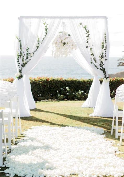 wedding arch wedding chuppah  flower chandelier