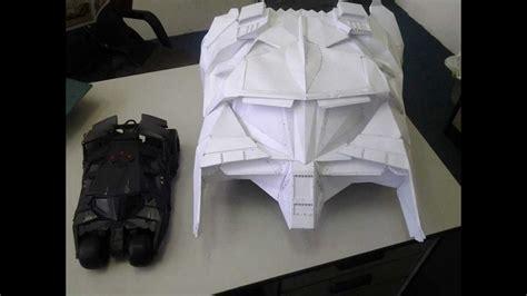 Batman Tumbler Papercraft - part 2 2013 batman batmobile tumbler diy same scale