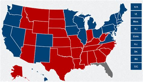 us election map 2012 results 13th amendment keeping time