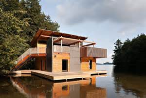 boat a home muskoka boathouse by christopher simmonds architect wave avenue