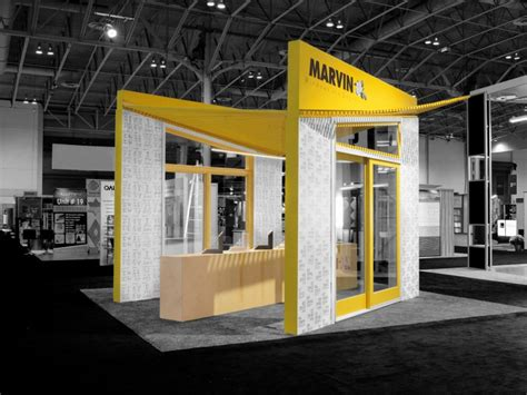 booth design canada marvin windows and doors canada booth by arc co design