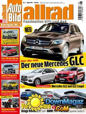 Auto Bild Allrad 1 2015 by Auto Bild Allrad 08 2015 187 Download Pdf Magazines