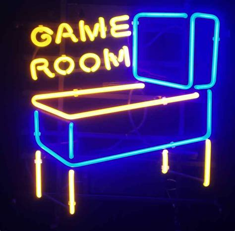 signs for rooms awesome neon room signs arcade heroes