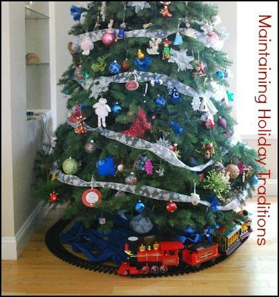 toy train going around top of a tree 82 best images about tree the on