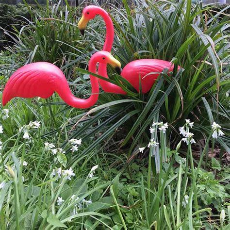 flamingo garden ornaments uk buy shop
