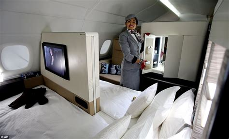 planes with beds the most luxurious plane in the world offers a three room