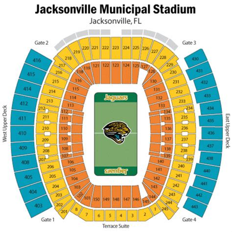 everbank field map everbank field seating chart everbank field tickets everbank field maps