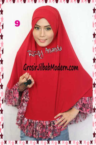 Jilbab Instan Brokat jilbab jumbo brokat no 9 merah grosir jilbab modern jilbab cantik jilbab syari