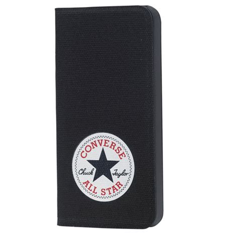 Converse W3052 Iphone 6 6s converse flipcover canvas iphone 6 6s svart themobilestore