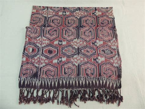 tribal pattern chair large ikat tribal pattern textile panel with fringes for