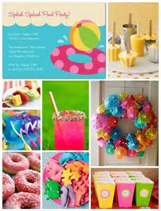 Summer Party Decorations by 371 Best Images About Pool Beach Luau Parties Food
