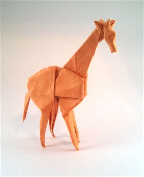 Animal Origami For The Enthusiast - origami giraffes and okapi page 1 of 3 gilad s origami