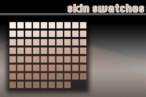 tone on tone color skin swatches by julliversum on deviantart
