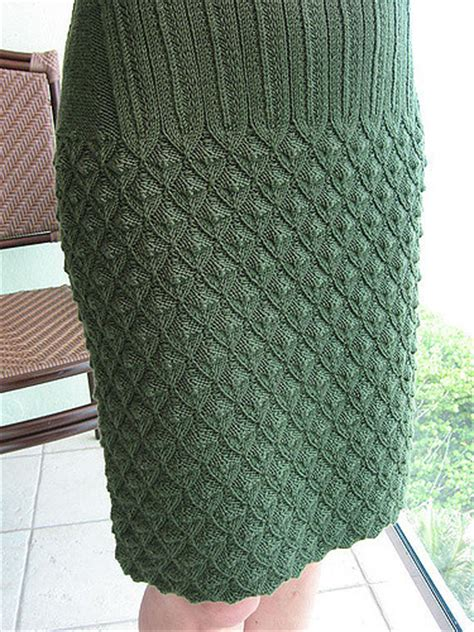 dress  skirt knitting patterns   loop knitting
