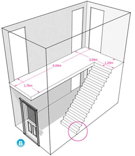 staircase width measuring and estimating