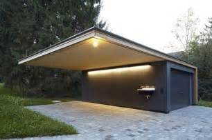 open car garage design cantilever roof cantilevers pinterest