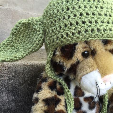 tutorial nge jedi crochet pattern yoda ears squareone for