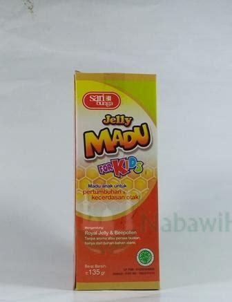 Nabawi 21 150 Ml madu jelly kid135 ml nabawi herba distributor herbal
