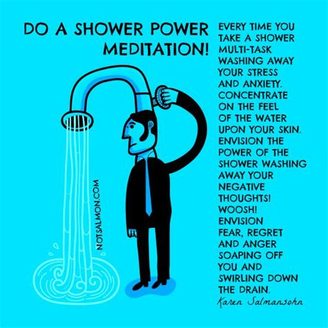 runner things 1063 do a shower power meditation every