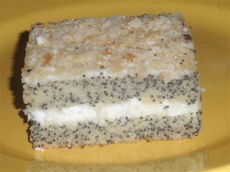 käse mohn kuchen dr oetker mohntorte in zwei leckeren varianten