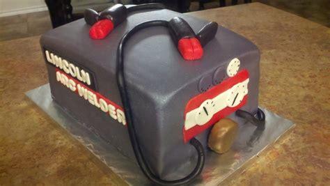 Welding Cake by Lincoln Arc Welder Welding Machine Grooms Cake