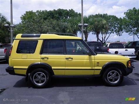 land rover yellow 2002 land rover discovery ii series ii se autos post