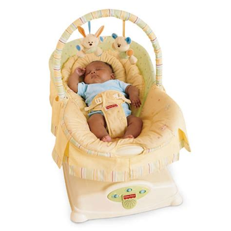 fisher price swing and glider soothing glider calms your baby with a smooth side to
