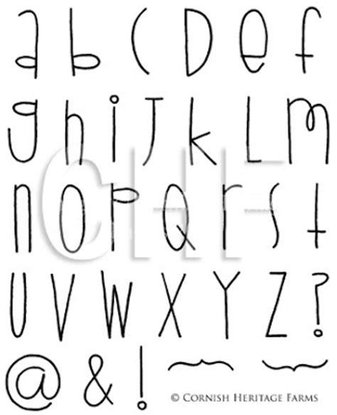 Cute Writing Styles Alphabet Loading