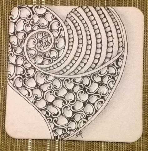 doodle pattern tiles tickled to tangle quot it s a string thing quot 26 tiles