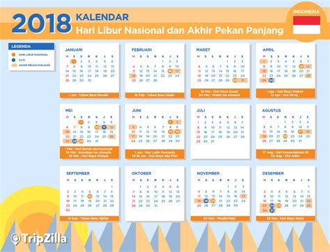 Kalender 2018 Menteri Kalender Libur Nasional Dan 13 Weekend Di Indonesia 2018