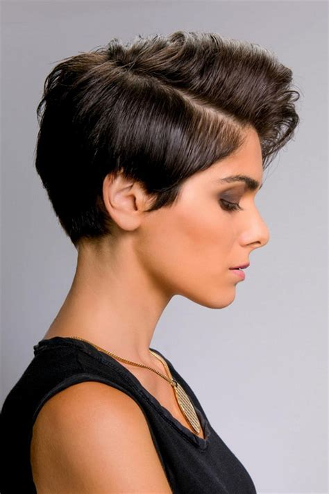 stylische kurzhaarfrisuren damen
