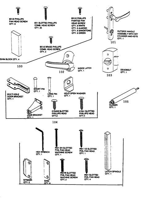 Door Knob Parts Names by Collection Door Lock Components Names Pictures Woonv