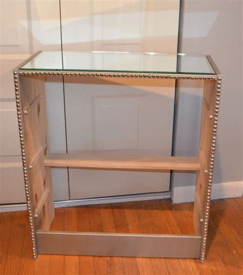 Diy Mirrored Desk 94 Best Diy Mirrored Furniture Images On Pinterest Diy Mirrored Furniture For The Home And