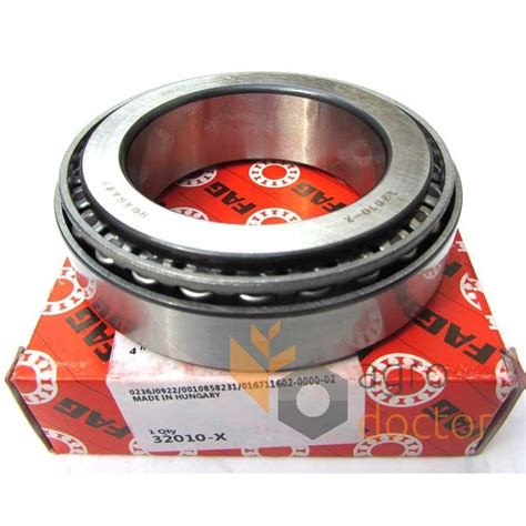Bearing Taper 32010 X Asb 32010 x tapered roller bearing oem 236008 0 for claas baler buy at agrodoctor ua