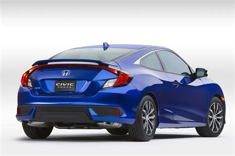 honda civic 2016 new 2016 honda civic coupe arrives bigger and better than