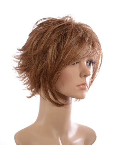 face framing short haircut light brown short wig lightweight layered style face