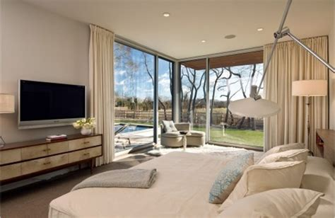 Big Modern Bedrooms by Bedrooms With A View Of Nature Home Design And Interior