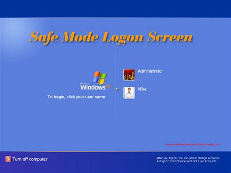 windows 8 reset password in safe mode can you activate windows xp in safe mode software free