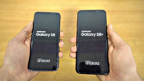 Samsung S8 Vs S8 Samsung Galaxy S8 Vs S8 Plus Speed Test 4k