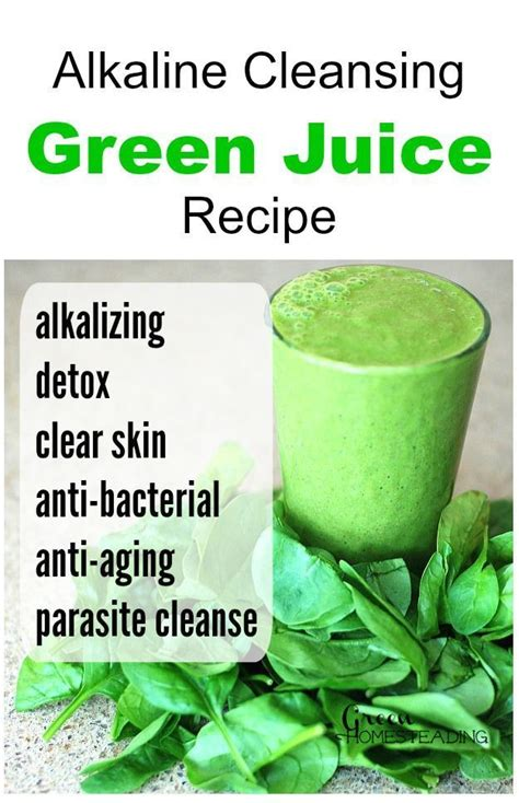 Alkaline Detox Juice Recipe 452 best images about te matcha amazing health benefits on