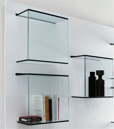wall mounted glass shelves 1000 ideas about glass shelves on makers