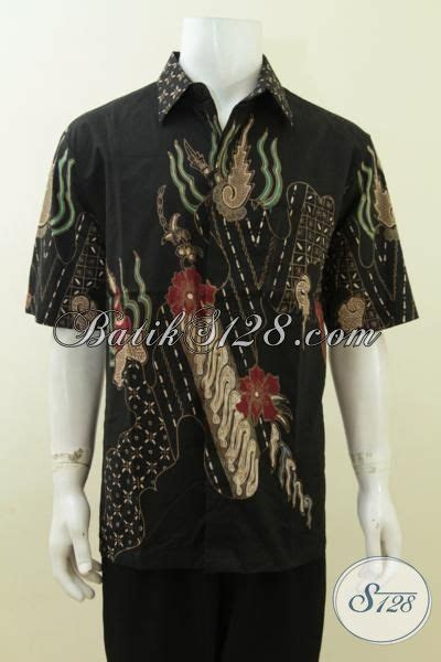 Baju Batik Hitam baju batik hitam bagus banget motif modern batik tulis asli ld3757t xl toko batik 2018