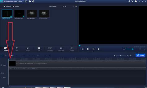 tutorial wondershare video editor barceliona tutorial mengedit video menggunakan